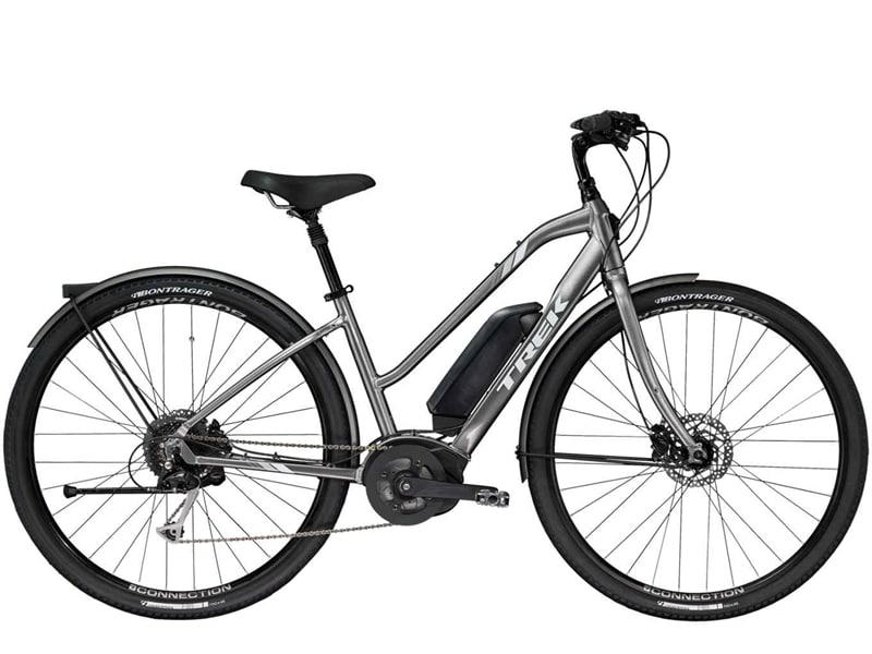 Elcykeln Verve från Trek med senaste tekniken från Bosch med centermotor.